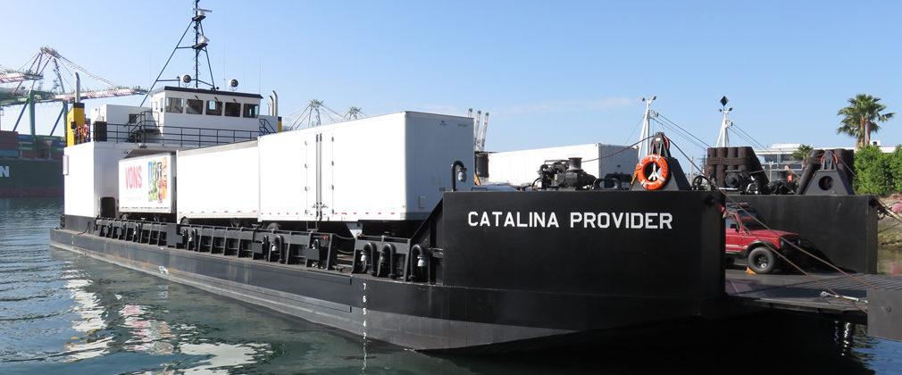 Catalina Provider docked in San Pedro, CA