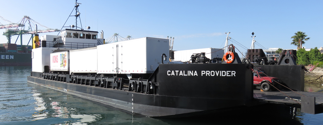 Catalina Provider in Port of Los Angeles