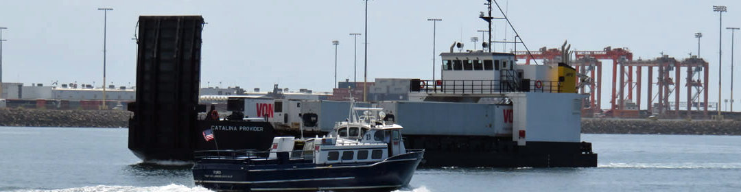 Catalina Provider in the Port of Los Angeles